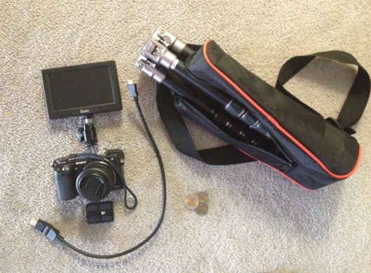 2 Kg video kit, including tripod