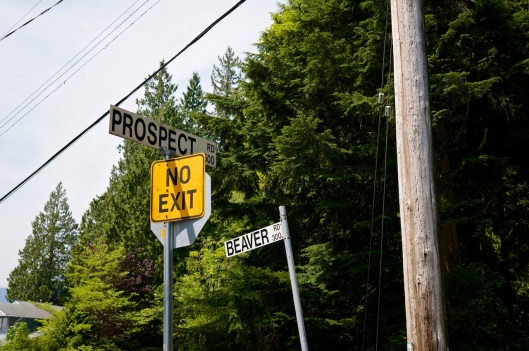 Prospect is the highest street on the mountain
